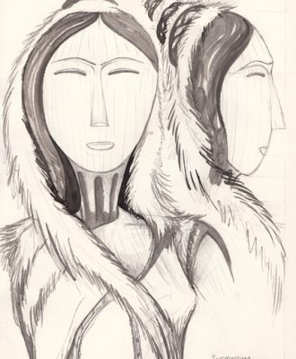 Sophie Partridge, 2012, Song of Semmersuaq, Designing.